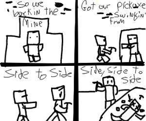 side side to side