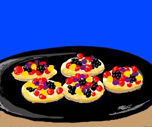 Dessert scene