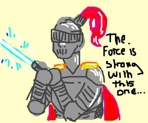 A literal jedi knight