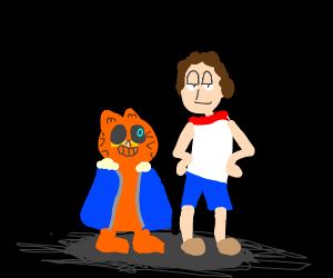 Sans And Papyrus But They Re Garfield And Jon Drawception