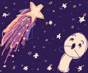 Star gazing (shooting stars)