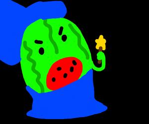 cursing watermelon