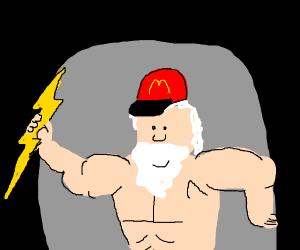 Mcdonalds but its mt olympus