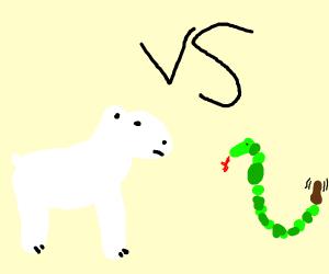 Pooh Bear VS Green Snake