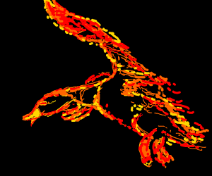 Flaming Duck
