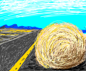 desert ball flying of