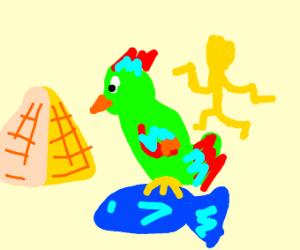 Egyptian Parrotfish