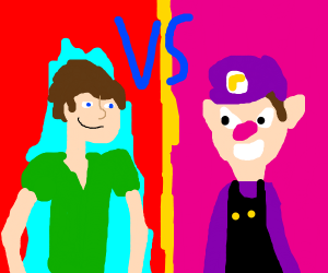 Shaggy vs. Waluigi