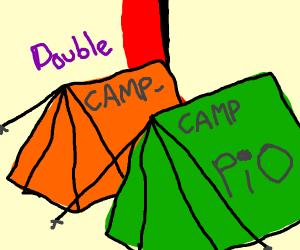 Double camp camp (PIO)