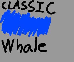 Classic Blue Whale