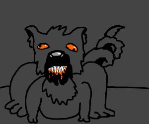 Weird wolf-thing