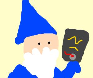 Wizard reads Star Wars