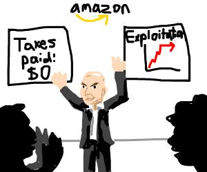 amazon stock market skyrockets