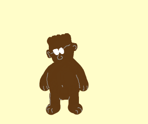 Dilbert as a bear