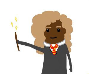 Dark Skinned Female Harry Potter Character