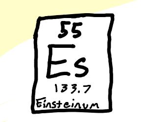 Einsteinium chemical