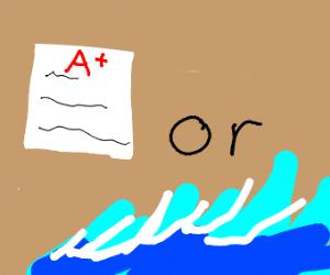 Homework A+ or waves
