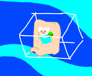 foot finn from adventure time