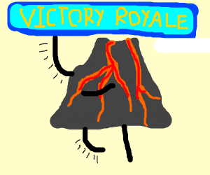 Fortnite Volcano...