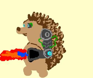 Porcupine Concept Art