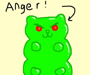 angry gummy boi