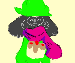 Ralsei baked you a cake!