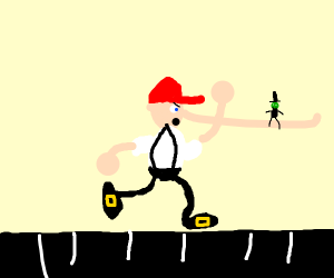 Pinocchio Athlete