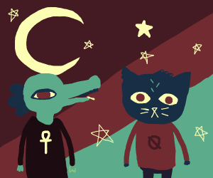Mae and Bea (Night in The Woods)