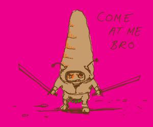 Carrot ninja bug
