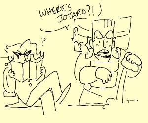 Man asks where Jotaro is