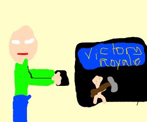Baldi now likes fortnite