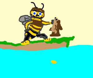 Barry bee benson catches codfish