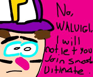 No Waluigi