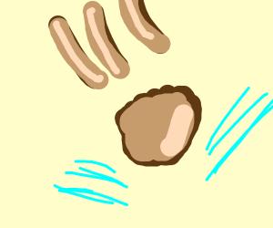 Uh oh poopoo comet
