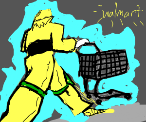 Jojo's bizzare trip to walmart