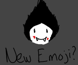 Cannibal vampire emoji