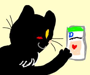 Cat plays Drawception