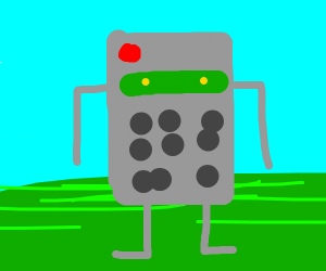 A Tv Remote robot