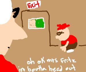 Okay Mrs. Frtiz. I'm Boutta Head Out
