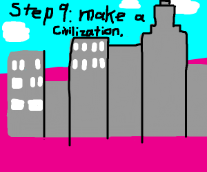 Step 8: conquer the pink wasteland