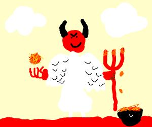 Angel Demon Hybrid Boi