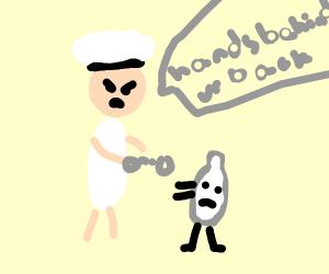 Milk man arrests milk