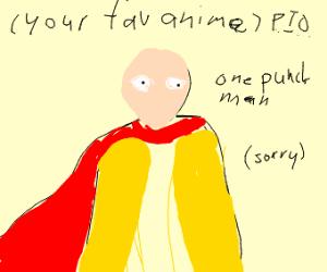 favourite anime pio