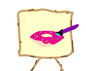 Painting donut
