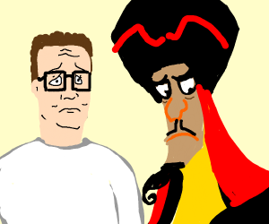 hank hill is disapointed in jafar