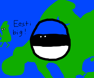 Estonia ball has conquered all