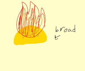 Golden Fire Bread
