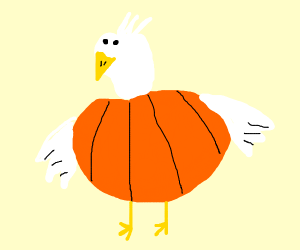 Pumpkin chicken