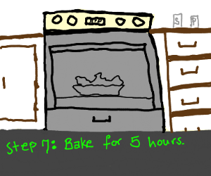 Step 6: Put in to oven