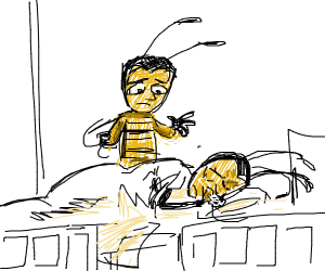 Adam from Bee Movie